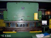Prensa plegadora hidráulica NC HAEMMERLE AP 100