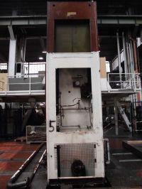 H πλαίσιο υδραυλική πρέσα SMG HZPU 400-2500/1600 1977-Φωτογραφία 4