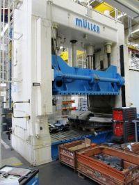 H Frame Hydraulic Press MUELLER ZAE 50-32.1.1