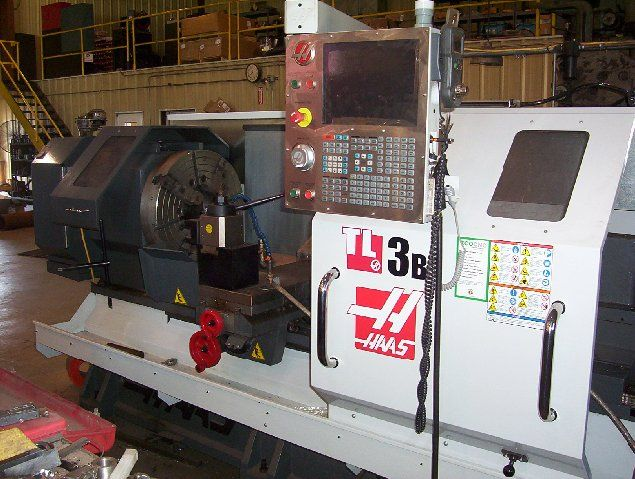 Haas toolroom lathe video images