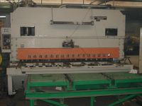 NC Hydraulic Guillotine Shear STROJARNE PIESOK CNTA 3150/25