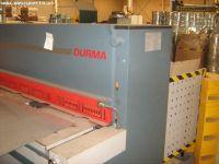 NC Hydraulic Guillotine Shear DURMA ES 2506