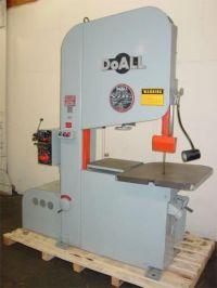 Bandzaagmachine DOALL FRICTION HI SPEED VERTICAL