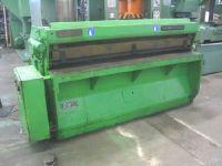Hydraulic Guillotine Shear VON ARX HSD 2,25 x 2000