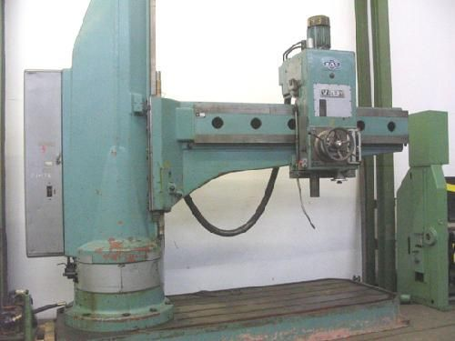 Radial Drilling Machine TOS-MAS VR 8A-P1 1981