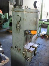 C Frame Hydraulic Press EITEL T 6,3 1962-Photo 2
