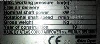Screw Compressor ATLAS-COPCO GA 55 1995-Photo 6