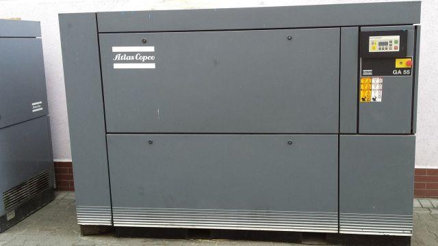 Screw Compressor ATLAS-COPCO GA 55 1995