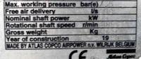 Sprężarka śrubowa ATLAS-COPCO GA 55 1995-Zdjęcie 6