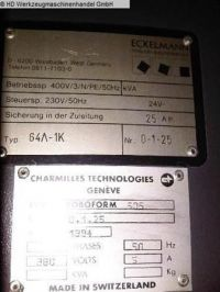 Senkerodiermaschine CHARMILLES TECHNOLOGIES ROBOFORM 505 1994-Bild 5