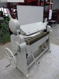 Schwenkbiegemaschine für die Blech NICHT ERSICHTLICH I/470