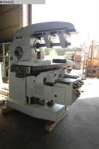 Horizontal Fräsmaschine WMW- FRITZ HECKERT FW 400x 1600