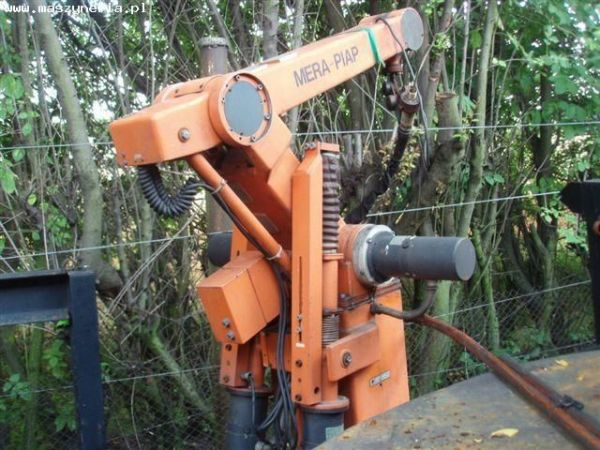 Robot spawalniczy MERA PIAP 2000