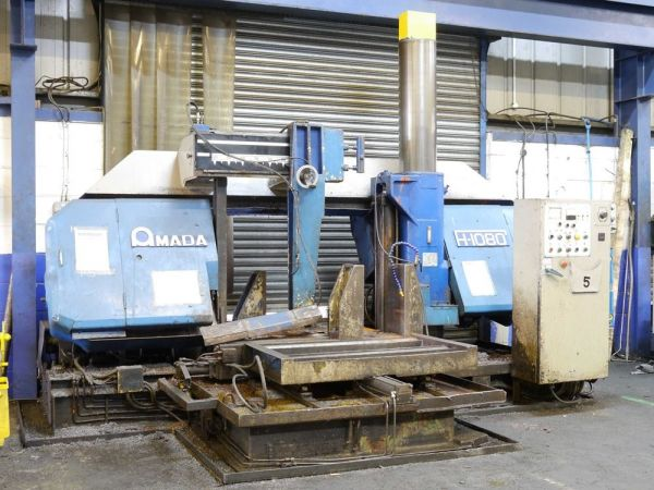 Band Saw Machine AMADA H 1080 1977