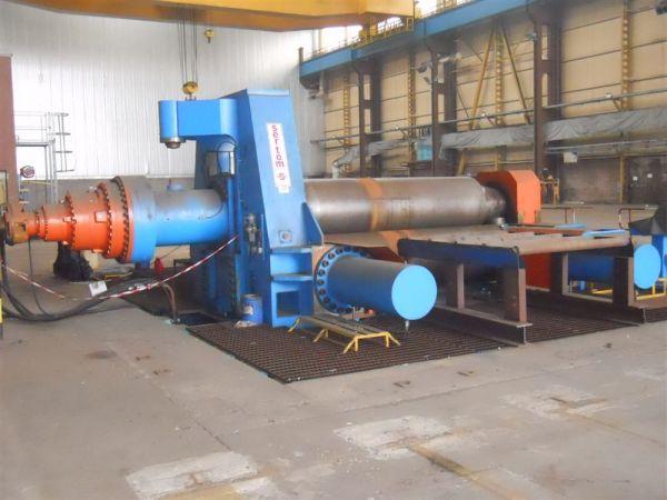 3 Roll Plate Bending Machine SERTOM EMO 30-130 S 2012