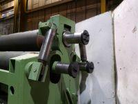 3 rol plaatbuigmachine BRONX HPPR 610 1990-Foto 6
