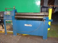 3 rol plaatbuigmachine MORGAN PBR 1250/6