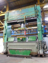 H Frame Hydraulic Press PULLMAX VPF 700/800/4.5