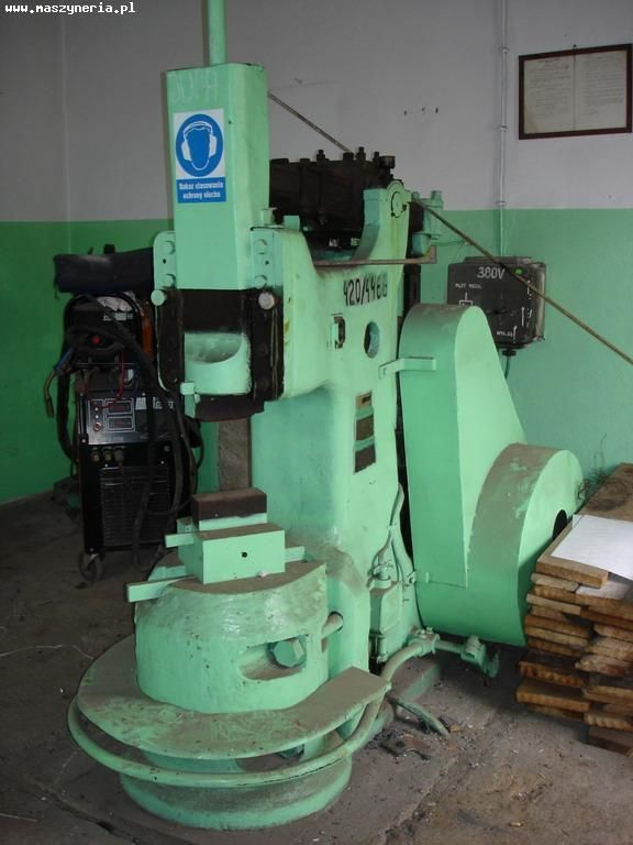 Single Frame Forging Hammer FUM Częstochowa MR 80A 1990