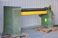 3 rol plaatbuigmachine MEPROZET ZBM-2,5 x 2000