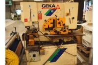 Ironworker Machine GEKA 80 STEELWORKER