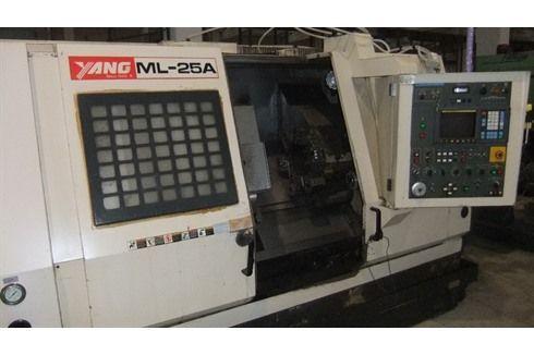 Токарный станок с ЧПУ (CNC) YANG ML 25A 1996