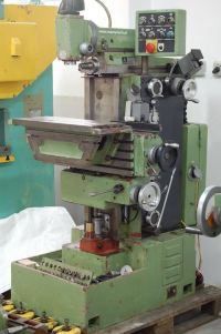 Toolroom Milling Machine TOS-ŻEBRAK TOS FN 20 OPTIC