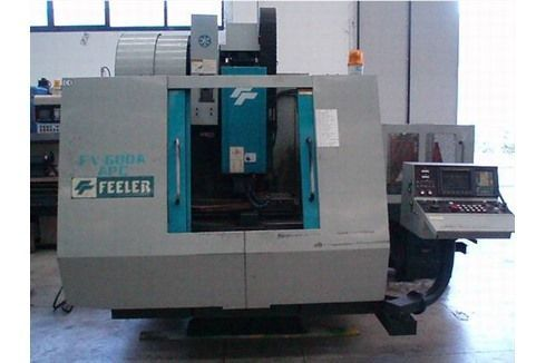 CNC Vertical Machining Center FEELER FV 600 APC 1996