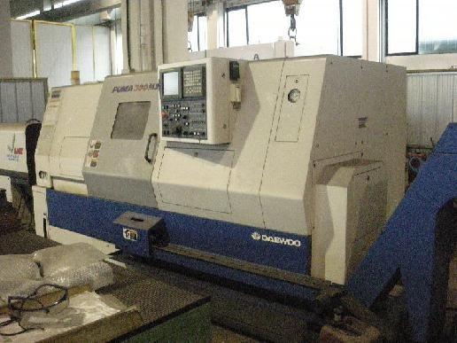 CNC eszterga DAEWOO PUMA 300 MSB 2001