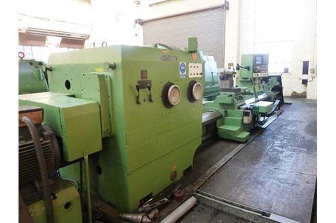 CNC raskaiden sorvi Poręba TCG 125 x 6000 1977