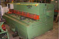 Cisaille guillotine hydraulique NC SAGITA MANURHIN
