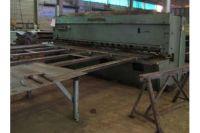 Hydraulic Guillotine Shear COMESSA CN 408