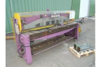 Mechanical Guillotine Shear COLLY BOMBLED 9 F