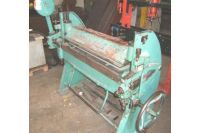 Folding Machines for sheet metal COLLY BOMBLED 250 B