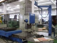 Máquina de perfuração horizontal UNION BFK 110.1 CNC