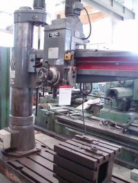 Radial Drilling Machine CSEPEL HUNGARY RF 50x1600
