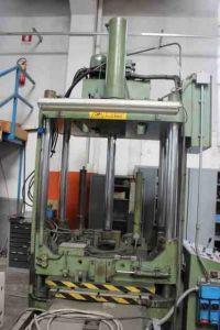 H Frame Hydraulic Press WALTER REIS TUS 115 OK-40 HWK