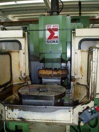 Centro di lavoro verticale CNC SIGMA VC 600 CNC CP 1992-Foto 3