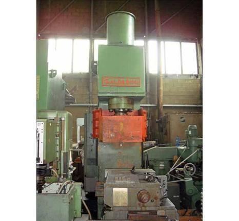 Pressa idraulica presse a collo di cigno GALDABINI RPRIC/100 1986