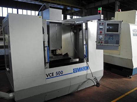 Centro di lavoro verticale CNC MIKRON VCE 500 1997