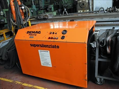 Screw Compressor DEMAG SE 15 S 1999