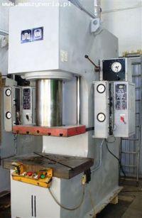 C Frame Hydraulic Press VEB Wema Zeulenroda PYE 160 S1M