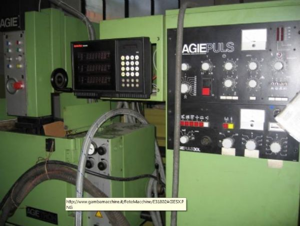 Kútfúrás elektromos kisülés gép AGIE EMS 2 1985