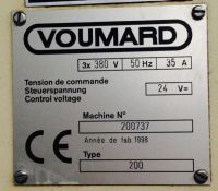 Internal Grinding Machine VOUMARD 200 1998-Photo 8