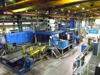 Fresadora de pórtico CNC WALDRICH SIEGEN VH FR 100 KW