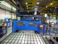 CNC portaal freesmachine BURKHARDT WEBER HYOP 750