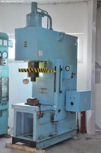 Pressa idraulica presse a collo di cigno VEB Wema Zeulenroda PYE 100 N