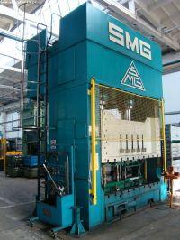 H Frame Hydraulic Press HZPU SMG 500