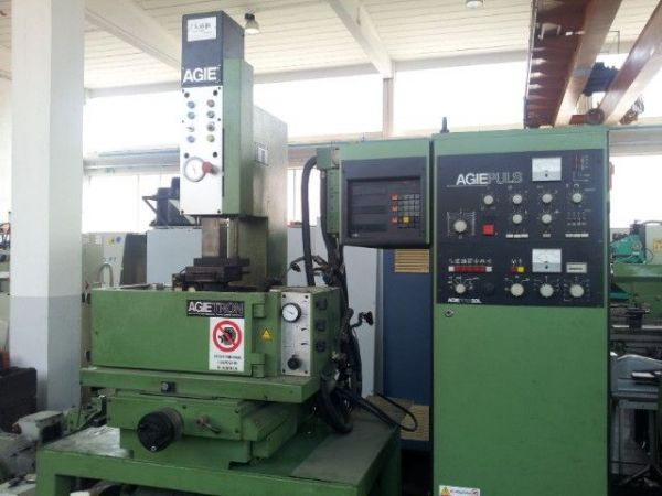 Sinker Electrical Discharge Machine AGIE EMT 1 1989