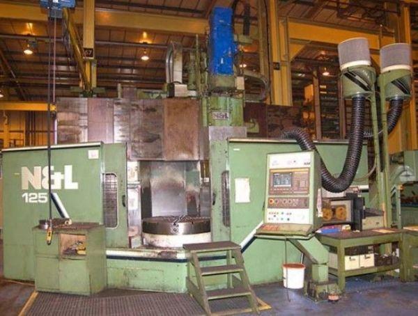 Tokarka karuzelowa CNC NOBLE LUND VTC NL 125 1992